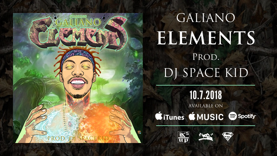 GALIANO ELEMENTS Prod. DJ SPACE KID